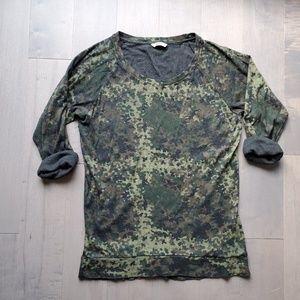 TNA artitzia camo del mar tshirt